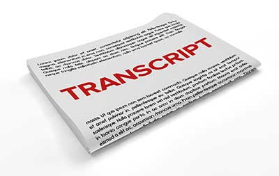 Course Transcripts